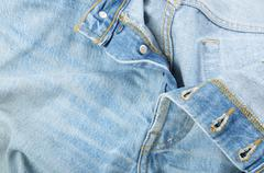 Buttonhole closure Stock Photos