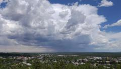 Cumulus Clouds over Flagstaff Stock Footage