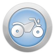 icon, button, pictogram atv - stock illustration