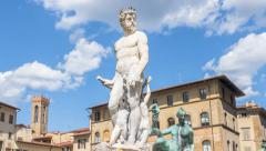 David michelangelo sculpture statue motion Stock Footage