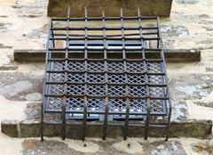 Protected window Stock Photos