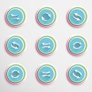 Stock Illustration of Arrow buttons