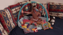 Babys playing area Stock Footage
