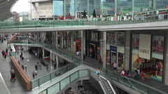 Liverpool one shopping centre, england Stock Footage