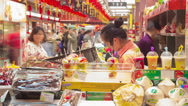 Stock Video Footage of Shanghai store timelapse 4K