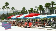 Venice Beach, Los Angeles, California, BlackMagic 4K Production Camera Stock Footage