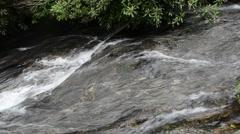 Glen Falls River, Nantahala National Forest, North Carolina 1080p Stock Footage