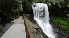 Dry Falls, Nantahala National Forest, North Carolina 1080p Stock Footage