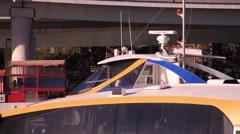 Modern Public Ferry - Radar  Stock Footage