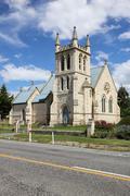Anglican church - stock photo