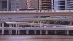 Riverside Highway Stock Footage
