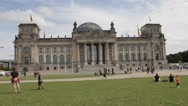 Berlin Reichstag Stock Footage