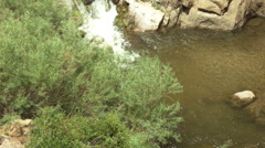 guadalupe river and canyon nm - stock footage
