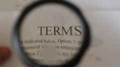 Terms of use Stock Footage
