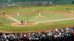 Baseball Game Boston Stock Footage