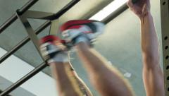 Toes to Bar - T2B Stock Footage