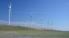 Windmill energy Stock Footage