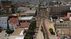 AERIAL 4K TIJUANA MEXICO Stock Footage