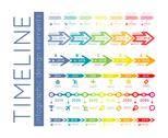 Stock Illustration of timeline infographic