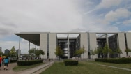 Chancellery of Chancellor of Germany, Berlin Stock Footage