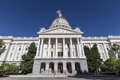 California state capitol Kuvituskuvat