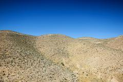 Rocky dunes in southern tunisia Stock Photos