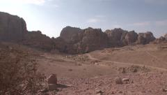PETRA SLIDER SHOT 02 ROMANS TEMPLE - stock footage