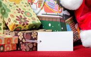 X-mas gift Stock Photos