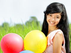 teen girl - stock photo