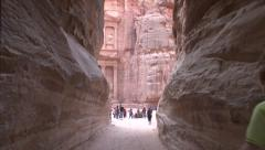 ENTERING PETRA Stock Footage