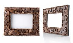 Stock Photo of table photo frame