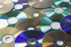 Stock Photo of compact disks
