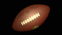 NFL BALL Transition PACK (8Videos) Stock Footage