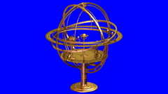 Armillary Sphere Stock Footage