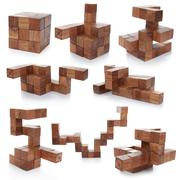 Stock Photo of wooden puzzle
