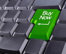 Stock Illustration of keyboard buy now