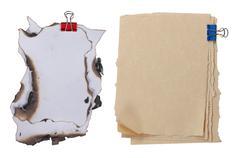 Stock Photo of paper
