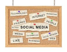 Stock Photo of social with networking concept