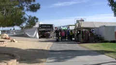 4K Traders Marquees at the Clark County Fair and Rodeo Stock Footage