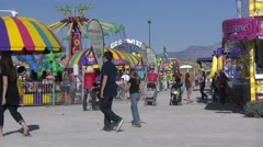 4K Carnival Rides Stock Footage