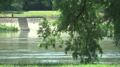 River Drava Stock Footage
