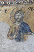 Stock Photo of jesus christ sitting in judgement