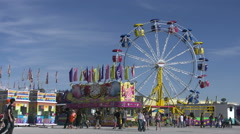 Clark County Fair and Rodeo Stalls Stock Footage