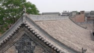 Stock Video Footage of beautiful chinese buildings in ancient city in pingyao china
