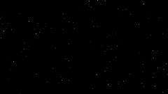 Golden explosion on black  background Stock Footage