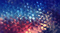 Hexagon Background - stock footage