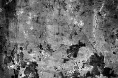 old rusty grunge cement wall background - stock photo