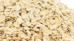 Raw oat - stock footage