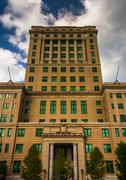 The buncombe county courthouse in asheville, north carolina. Stock Photos