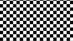 Checkered motion background Stock Footage